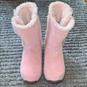 Girls LL Bean snow boots